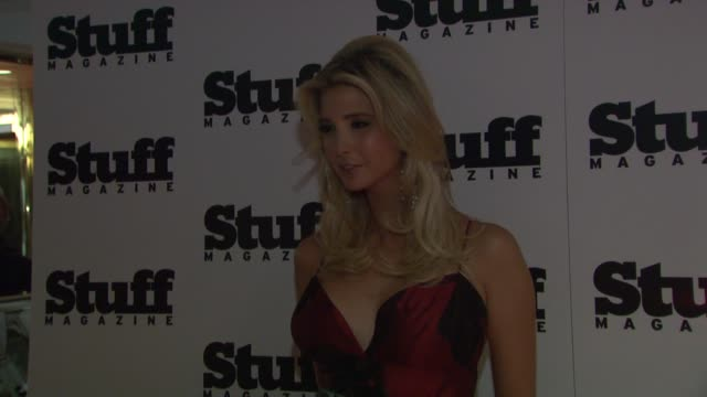 Ivanka Trump at the Preview of Stuff Magazine´s 2007 Fall Fashion Issue at Trump Tower in New York New York on August 14 2007