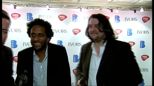after ceremony guy garvey interview sot elbow interview sot - elbow stock videos & royalty-free footage