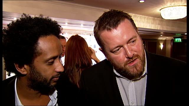 red carpet gvs beverley knight more of elbow interview sot - elbow stock videos & royalty-free footage