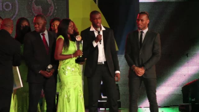 Ivorian Yaya Toure of Manchester City wins Africas top football honour beating out his countryman Didier Drogba and Alexandre Song of Cameroon for...
