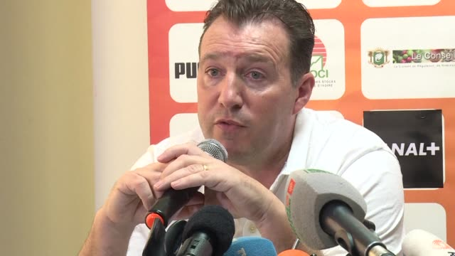 Ivory Coast coach Marc Wilmots say he was calm ahead of the final game of the qualifiers for the 2018 World Cup against Morocco