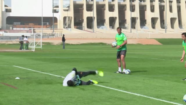 Ivory Coast national football team players have set up camp in the UAE as they train ahead of the 2015 CAN