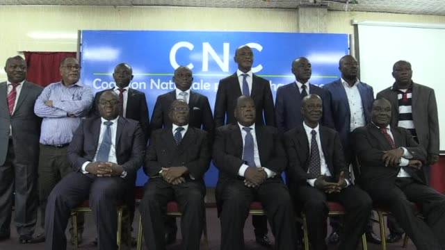 ivory coast politicians on friday launched an opposition coalition ahead of october presidential elections as crowds chanted the name of ex strongman... - international criminal court stock videos and b-roll footage