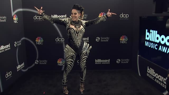 ivy queen at the 2020 billboard music awards - press room at dolby theatre on october 14, 2020 in hollywood, california. - the dolby theatre stock videos & royalty-free footage