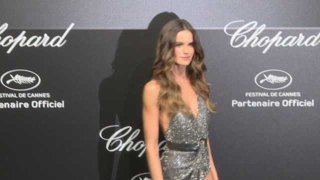 izabel goulart at chopard party - the 71st annual cannes film festival on may 11, 2018 in cannes, france. - izabel goulart stock videos & royalty-free footage