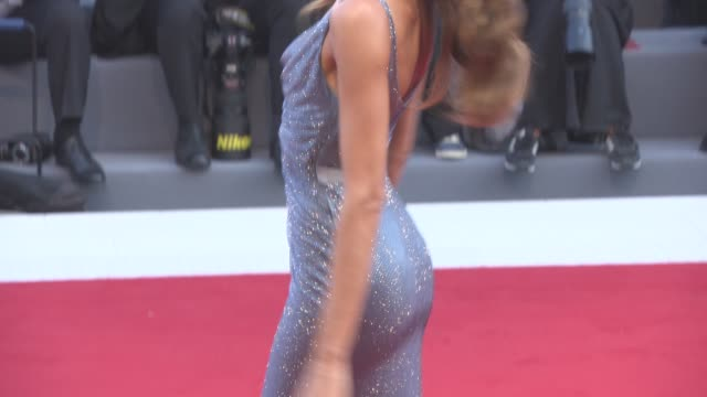 izabel goulart at 'downsizing' - opening night red carpet - 74th venice international film festival at palazzo del cinema on august 30, 2017 in... - 74th venice film festival stock videos & royalty-free footage