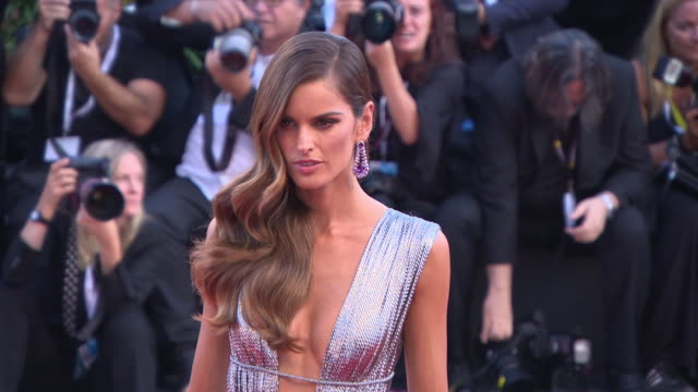 Izabel Goulart at First Man Red Carpet Arrivals Opening Ceremony And Lifetime Achievement Award To Vanessa Redgrave 75th Venice Film Festival at red...