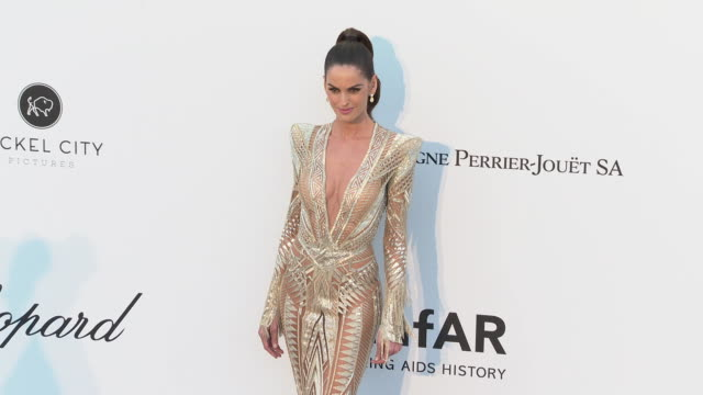 Izabel Goulart at the amfAR Cannes Gala 2019 Arrivals at Hotel du CapEdenRoc on May 23 2019 in Cap d'Antibes France