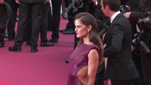 izabel goulart at 'the dead don't die' red carpet arrivals opening ceremony - the 72nd cannes film festival on may 14, 2019 in cannes, france. - izabel goulart stock videos & royalty-free footage