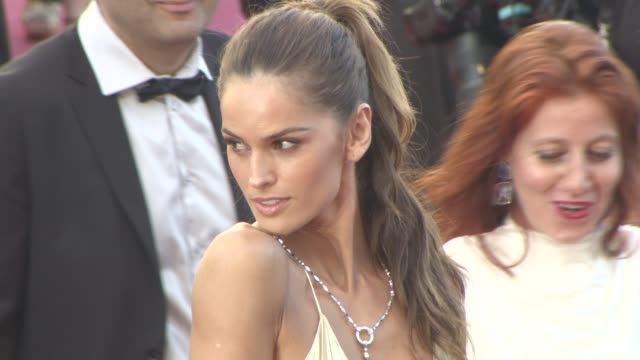 Izabel Goulart at 'The Last Face' Red Carpet at Grand Theatre Lumiere on May 20 2016 in Cannes France
