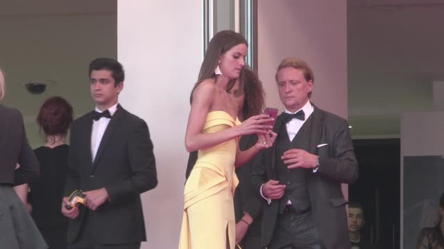 izabel goulart mads mikkelsen actress shu qi director hou hsiaohsien and actor chang chen john c reilly and alison dickey harvey weinstein and... - tim roth stock videos and b-roll footage