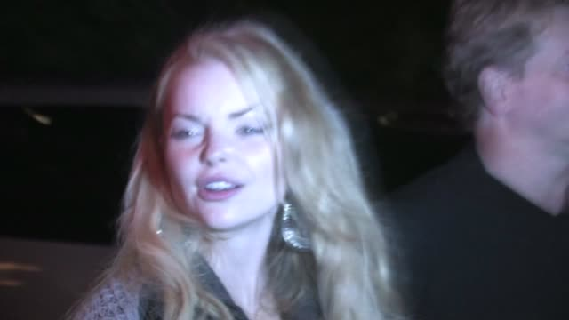 Izabella Miko at Chateau Marmont in West Hollywood