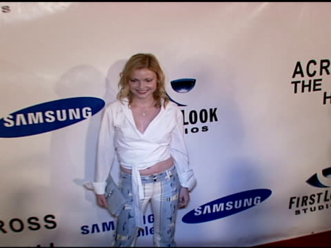 Izabella Miko at the 'Across The Hall' Premiere at the Museum of Television and Radio in Beverly Hills California on June 24 2006