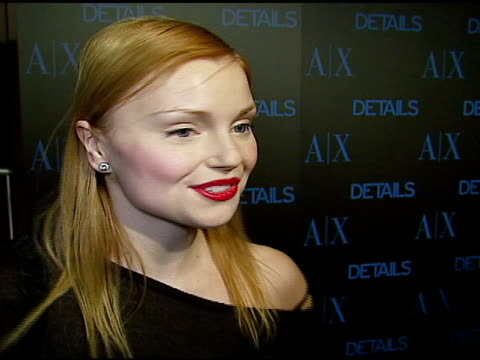 Izabella Miko at the Armani Exchange and Details Magazine 'Insider' at Area in West Hollywood California on December 7 2006