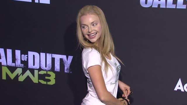 Izabella Miko at the 'Call of Duty Modern Warfare 3' Launch Party at Playa del Rey CA