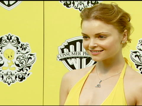 Izabella Miko at the JetSetting Tweety Returns Home With a New Designer Collection at NULL in Beverly Hills California on July 25 2007