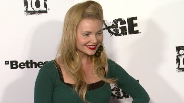 Izabella Miko at the 'Rage' Video Game Launch Party at Los Angeles CA