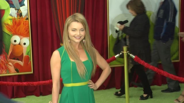 Izabella Miko at the The World Premiere of Walt Disney's 'The Muppets' at Hollywood CA