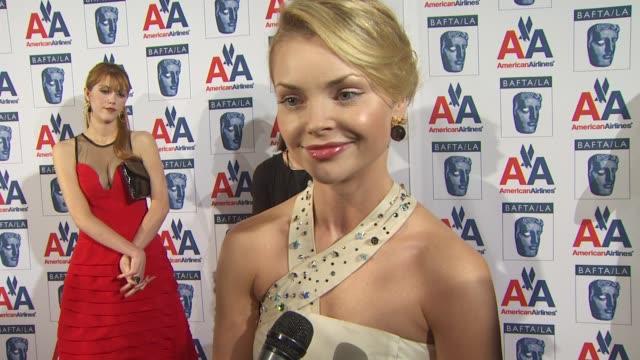 Izabella Miko on the event at the 18th Annual BAFTA/LA Britannia Awards at Century City CA