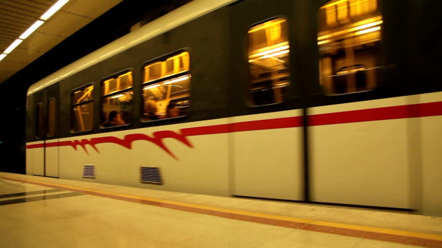 izmir metro station - mpeg video format stock videos & royalty-free footage