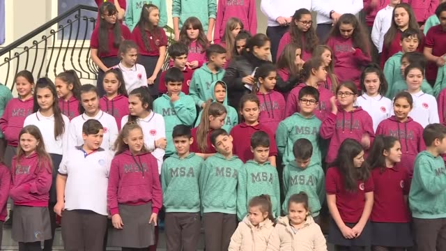 Izmir's Makbule Suleyman Alkan Secondary School has 33 twins and 1 set of triplets among its students Teachers at a Turkish school in Izmir are...