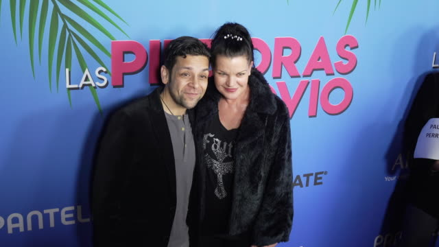 izzy diaz and pauley perrette at the las pildoras de mi novio premiere at arclight hollywood on february 18 2020 in hollywood california - arclight cinemas hollywood stock videos & royalty-free footage