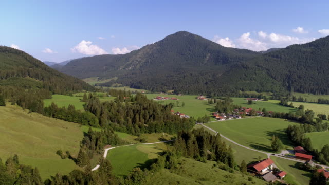 jachenau village in bavaria - bavaria stock videos & royalty-free footage