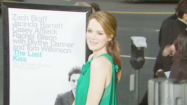 Jacinda Barrett at the 'The Last Kiss' Los Angeles Premiere at DGA Theater in Los Angeles California on September 13 2006