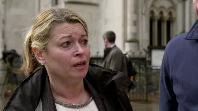 attempt to have doctor involved struck off london nicky and vic adcock arriving at high court to hear attempt by the general medical council to get... - general medical council stock videos & royalty-free footage