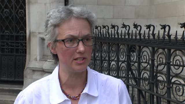 Struckoff doctor wins appeal to work again after crowdfunded campaign ENGLAND London Royal Courts of Justice EXT Dr Jenny Vaughan interview SOT