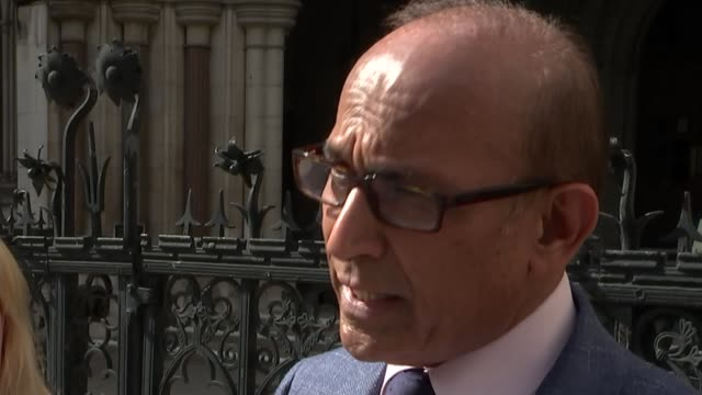 Struckoff doctor wins appeal to work again after crowdfunded campaign ENGLAND London Royal Courts of Justice EXT Dr Ramesh Mehta interview SOT