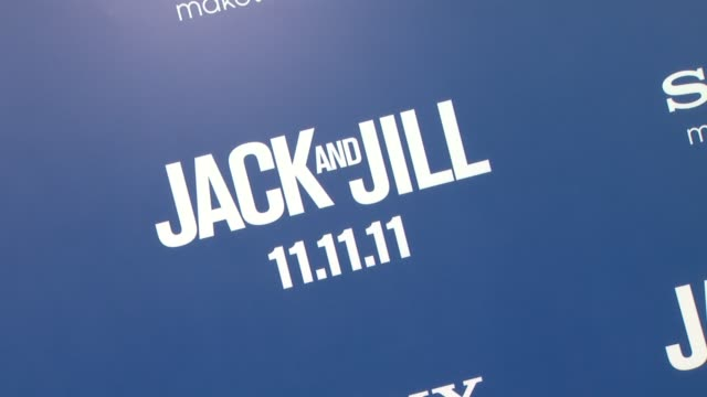 vidéos et rushes de 'jack and jill' world premiere at the 'jack and jill' world premiere at westwood ca - westwood