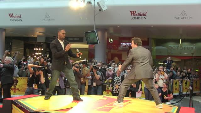 jack black at the kung fu panda 2 uk premiere at london london - jack black stock videos & royalty-free footage