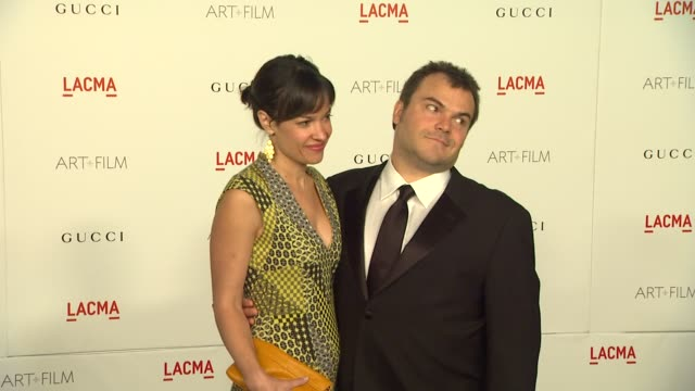 Jack Black at the LACMA Hosts Inaugural Art Film Gala Honoring Clint Eastwood And John Baldessari Presented By GUCCI at Los Angeles CA