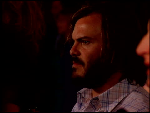 jack black at the project als benefit gala at the century plaza hotel in century city california on may 6 2005 - jack black stock videos & royalty-free footage
