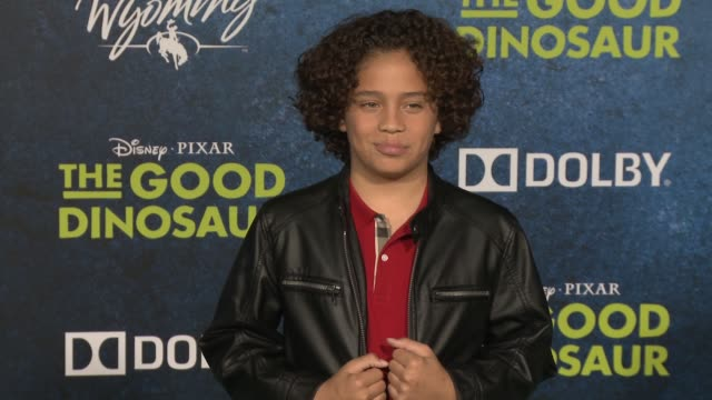 jack bright at the good dinosaur world premiere at the el capitan theatre on november 17 2015 in hollywood california - el capitan theatre stock videos and b-roll footage