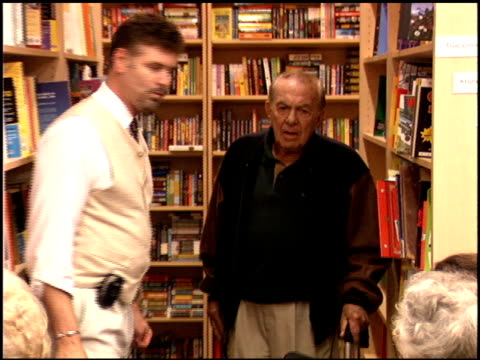 Jack Carter at the Book Signing of Ben Alba's 'Inventing Late Night' at Dutton's in Beverly Hills California on November 4 2005