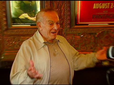 Jack Carter at the Los Angeles Opening of 'Little Women' at Pantages Theater in Hollywood California on August 2 2006