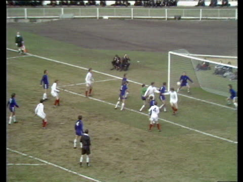 jack charlton scores with header from corner kick chelsea vs leeds united 1970 fa cup final wembley london - jack charlton stock videos & royalty-free footage