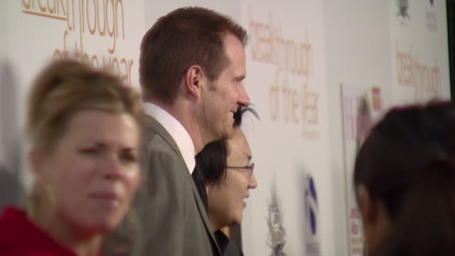 Jack Coleman and Masi Oka at the Hollywood Life's 7th Annual Breakthrough of the Year Awards at The Music Box Theater at the Henry Fonda Theater in...