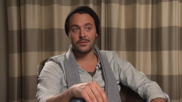 interview jack huston on the philosophy of the film and his character at the night train to lisbon interviews on the 14th of february 2013 - philosophy stock videos & royalty-free footage