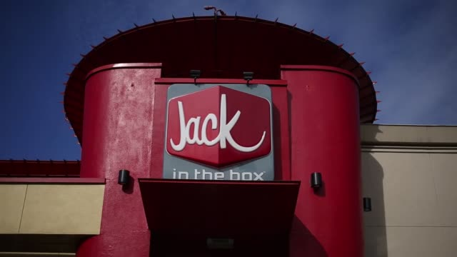 A Jack In The Box Inc fast food restaurant is pictured in Nashville Tennessee US on Thursday Feb 9 2017 Shots wide shot of Jack in the Box restaurant...