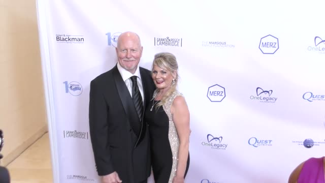 Jack King and Kandra King at The CARRY 10th Annual Gala at The Beverly Hilton Hotel on November 17 2017 in Beverly Hills California