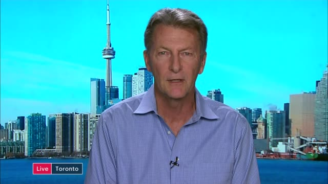 jack letts interview as he learns he has been stripped of his british citizenship england london gir int john mckay 2 way interview from toronto sot... - 市民点の映像素材/bロール