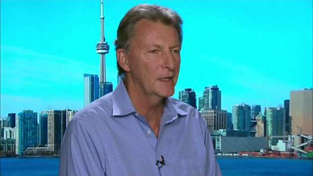 Jack Letts interview as he learns he has been stripped of his British citizenship CANADA Ontario Toronto INT John McKay interview SOT