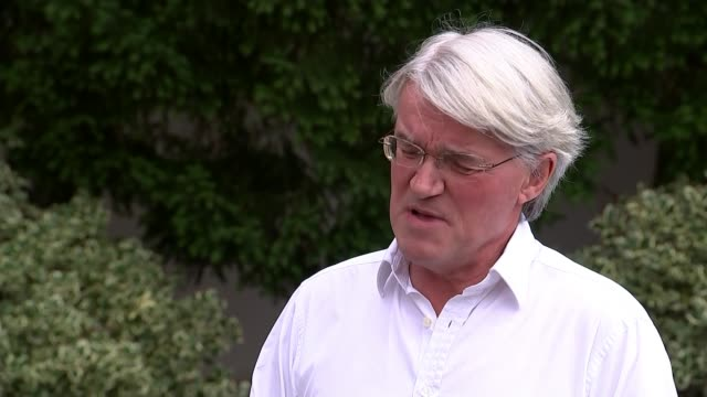 Jack Letts interview as he learns he has been stripped of his British citizenship ENGLAND London EXT Andrew Mitchell MP interview SOT Victoria Home...