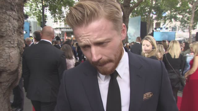 INTERVIEW Jack Lowden on working on a Christopher Nolan film playing a RAF pilot on the film not reading into 'England is mine' title Dunkirk being...