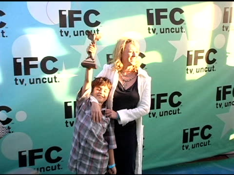 jack madsen and virginia madsen at the 20th annual independent spirit awards afterparty at santa monica in santa monica california on february 26 2005 - virginia madsen stock videos & royalty-free footage