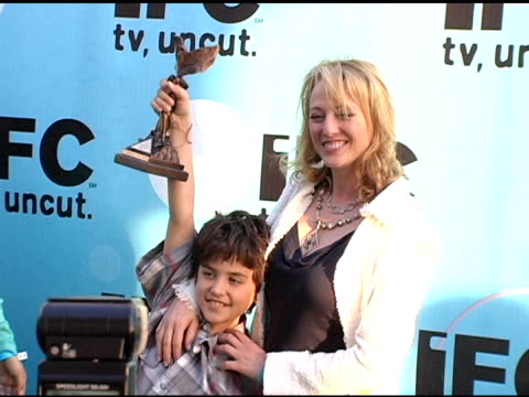 jack madsen and virginia madsen at the 20th annual independent spirit awards after-party at santa monica in santa monica, california on february 26,... - virginia madsen stock videos & royalty-free footage