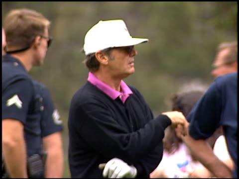 jack nicholson at the jack nicholson lapd golf tournament on may 14, 1994. - jack nicholson stock videos & royalty-free footage